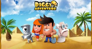 Meilleur Jeux Aventure Android – Diggy's Adventure