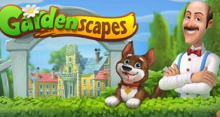 Meilleur Jeux Grand Public Android -Gardenscapes