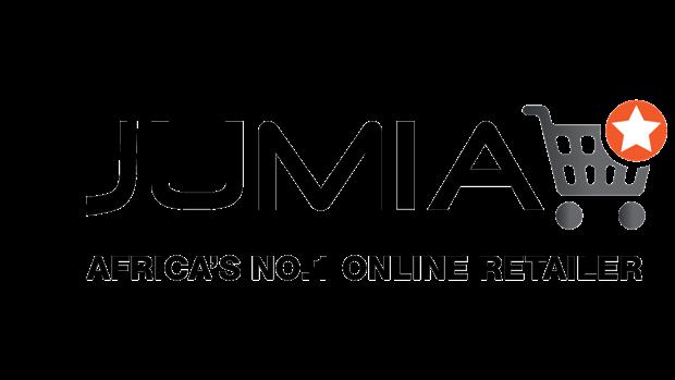 "Logo officiel - Jumia : Africa""s No.1 online Reatiler (Majuscule)"