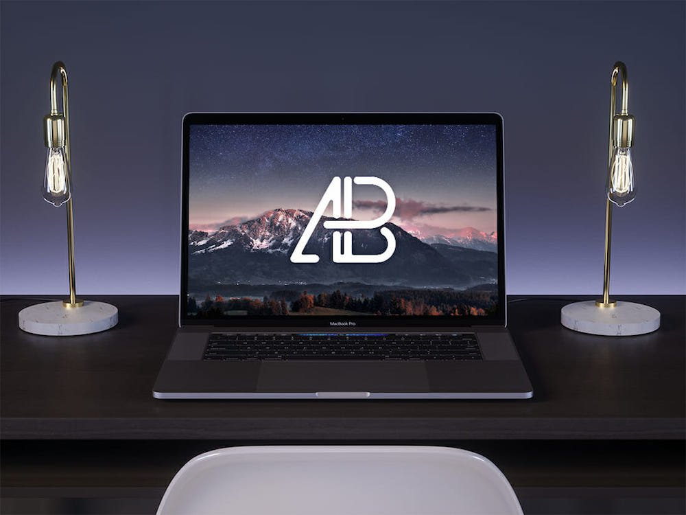 2019 macbook pro on mockup 2 anthony boyd graphics