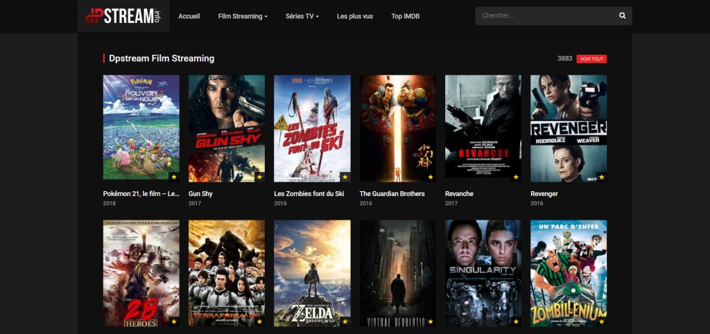 DpStream Films, Séries et Mangas en streaming