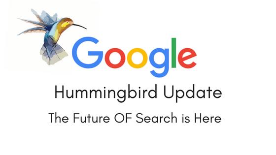 Mise a jour Google Hummingbird