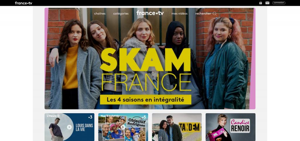 France.tv - replay des émissions TV gratuitement