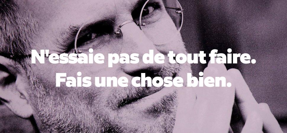 Meilleures citations de Motivation et Innovation par Steve Jobs