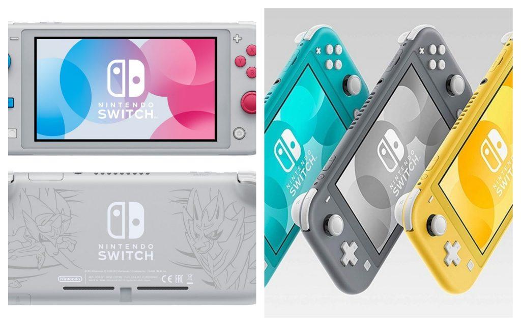 Nouveautés consoles High-tech 2020 - Switch LITE