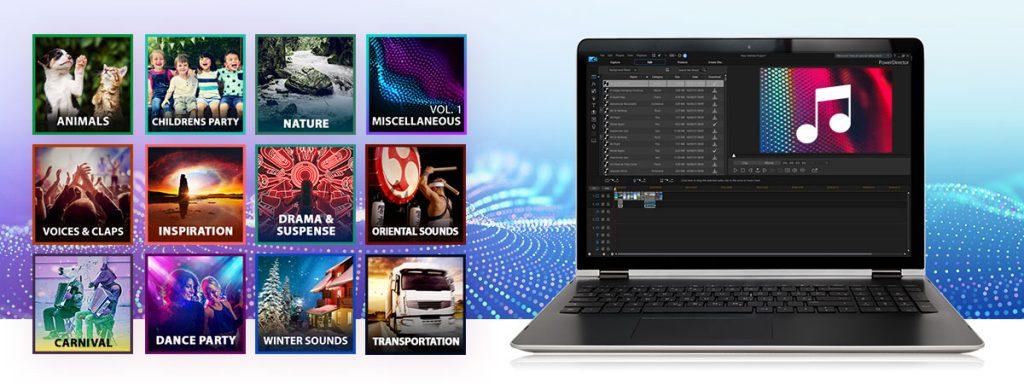 logiciels de montage video pour youtube payants - CyberLink PowerDirector 365