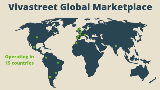 Depuis son lancement, la marque Vivastreet continue de se développer à l'échelle mondiale et est désormais présente dans 15 pays en Europe, en Amérique du Sud et en Asie.