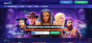 Capture d'ecran GameTwist Casino – www gametwist com