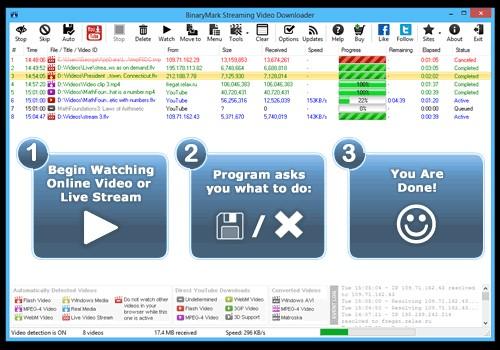 Streaming Downloader