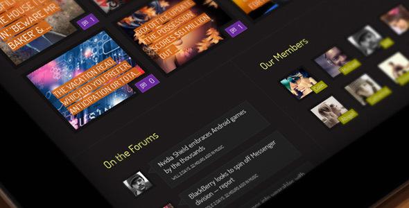 WP Thème : Xphoria – Thème BuddyPress (Guide, Téléchargement &