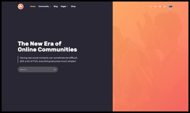 Gwangi - Adhésion polyvalente PRO, réseau social et thème de la communauté BuddyPress - 9