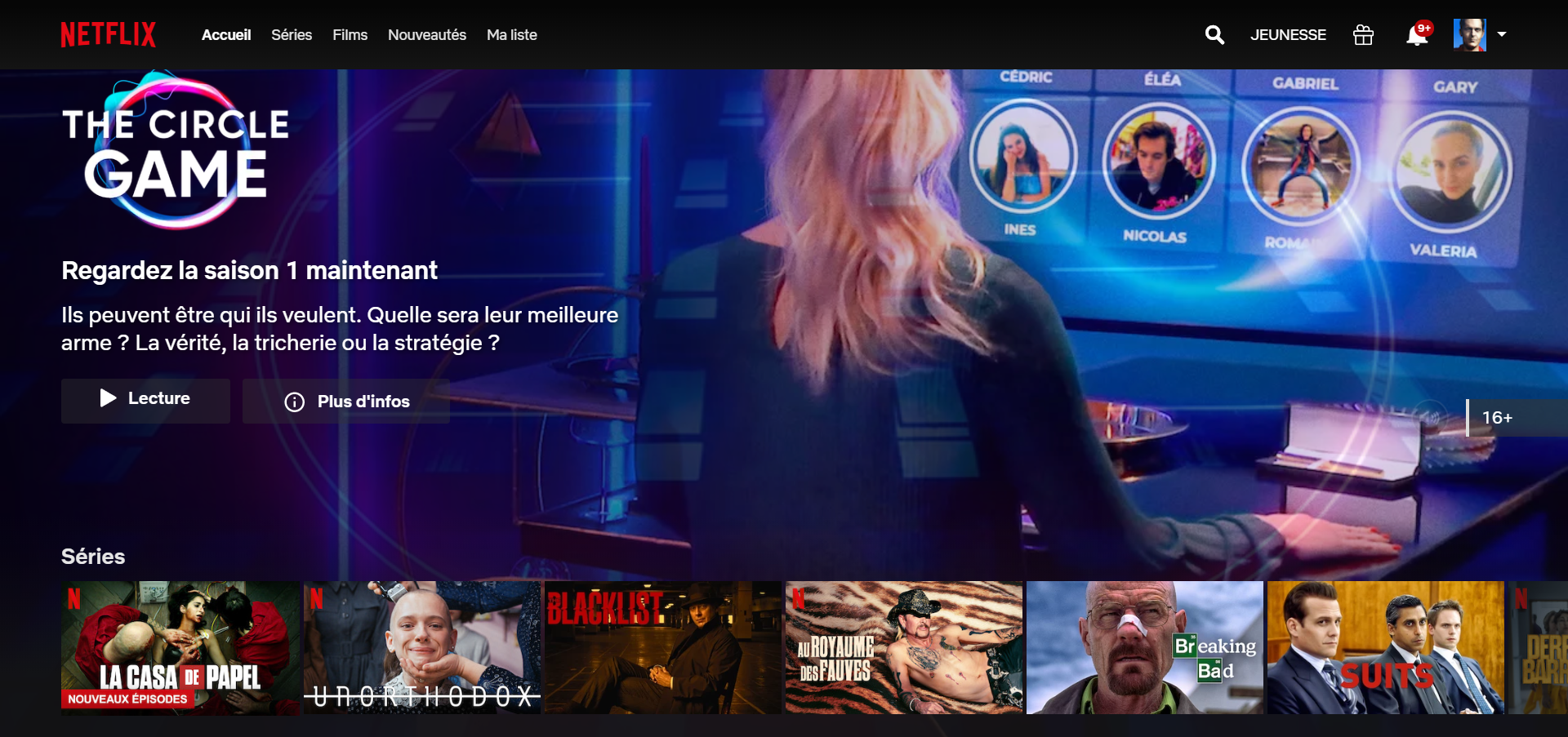meilleures alternatives Dadyflix – netflix