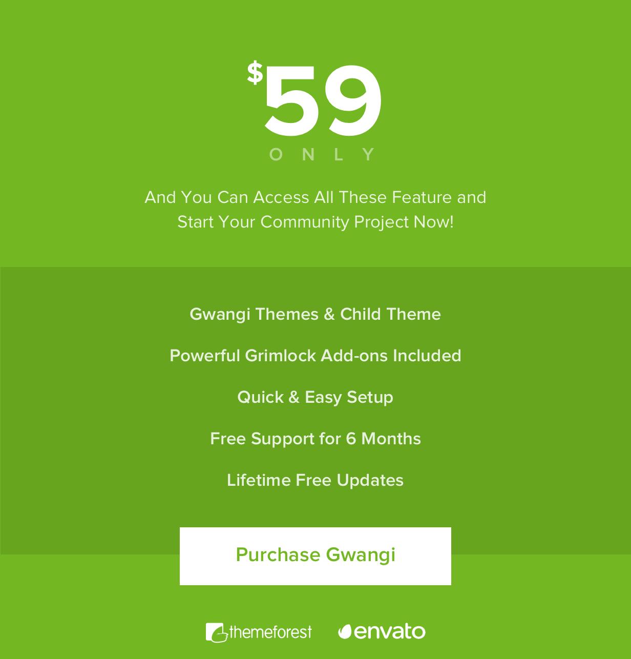 Gwangi - Abonnement multi-usage PRO, réseau social et thème de la communauté BuddyPress - 44