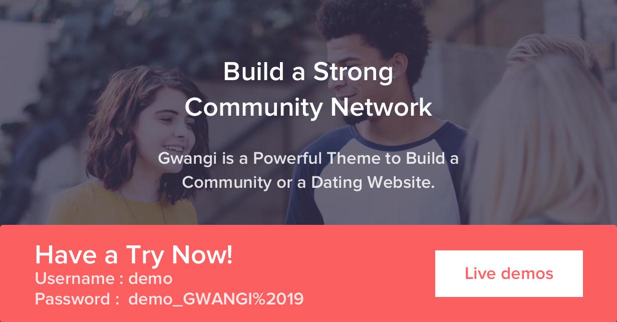 Gwangi - Adhésion polyvalente PRO, réseau social et thème de la communauté BuddyPress - 42
