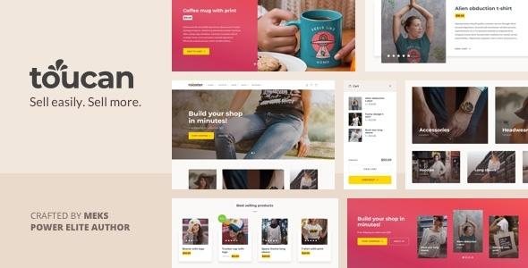 WP Thème : Toucan – Thème WooCommerce pour boutique WordPress