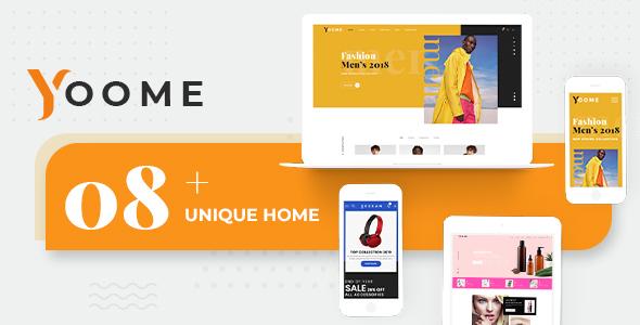 WP Thème : Yoome – Thème WordPress WooCommerce moderne (Guide,