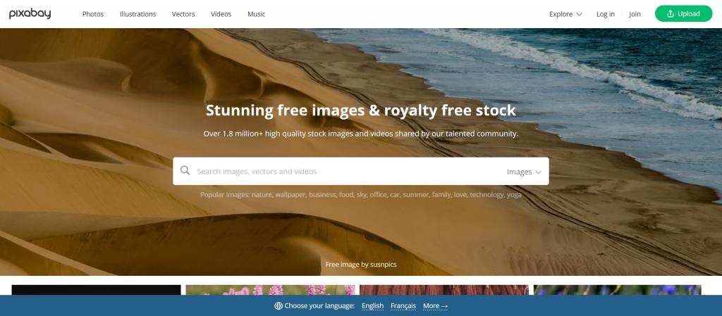 Pixabay : plus de 1,8 million d'images gratuites époustouflantes à utiliser partout