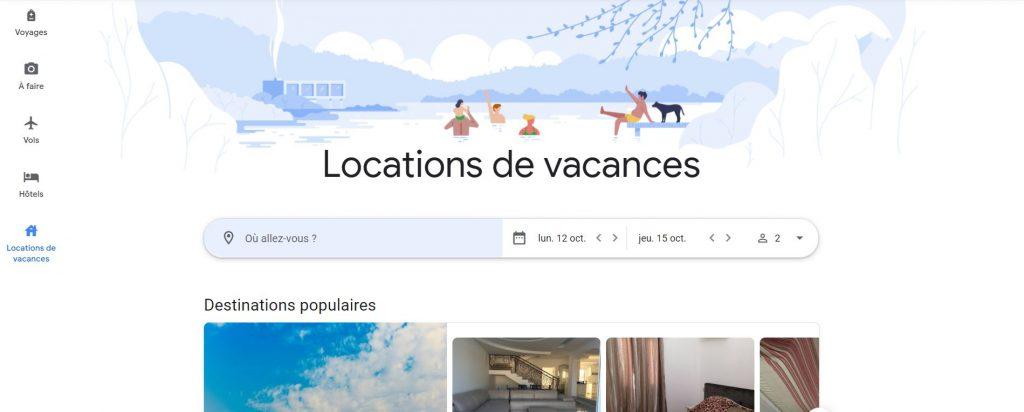 Les Recommandations Google Travel