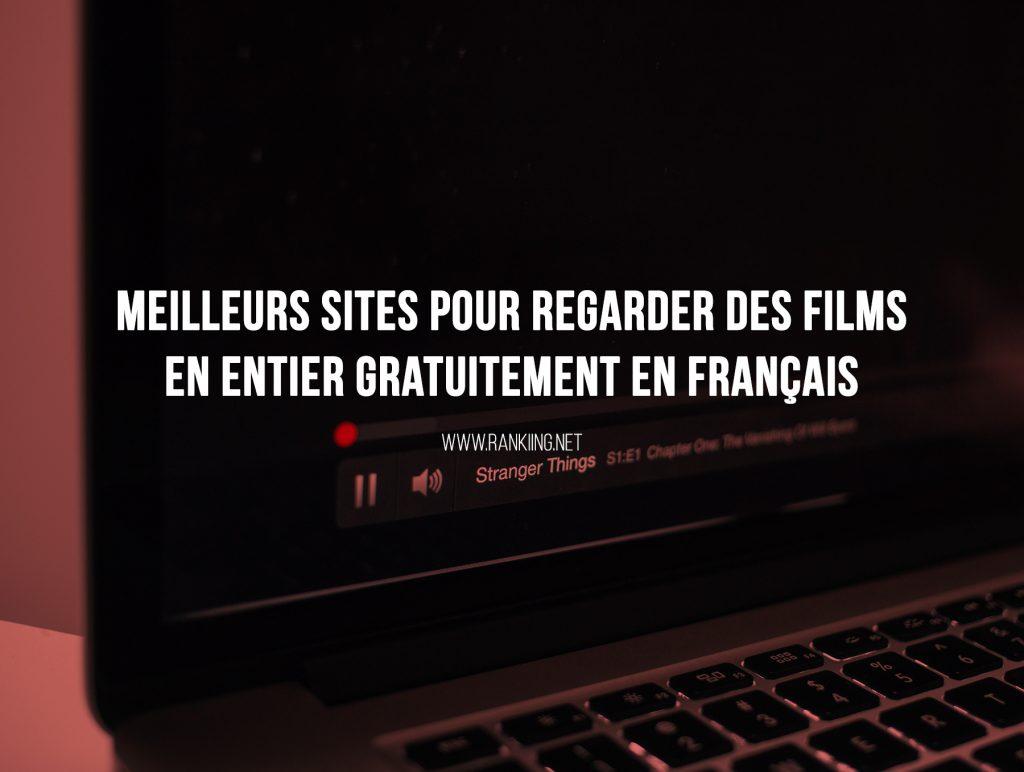 Top sites pour regarder des film en entier gratuitement