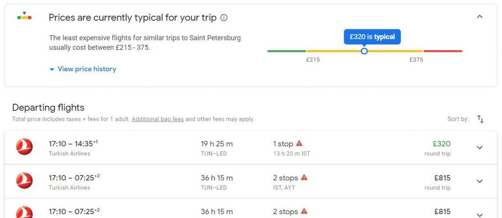 vols google flights - Trouver les meilleurs prix des vols