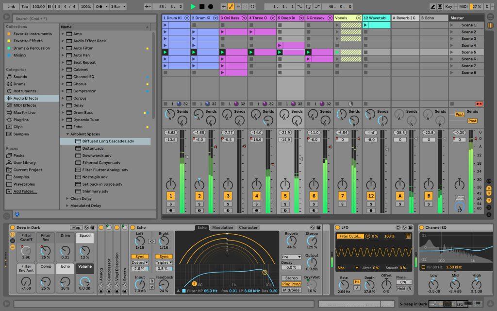 Télécharger Ableton Live Suite 10.1.25 version complète avec Crack