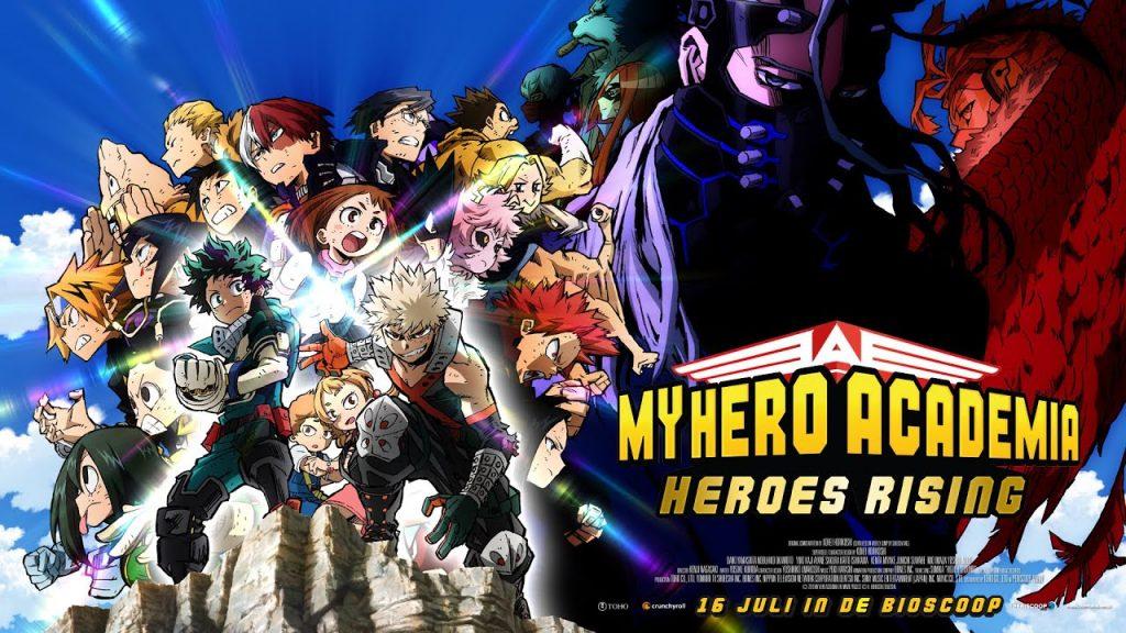 10 Adresses pour regarder My Hero Academia Heroes Rising en streaming