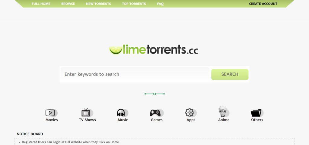 sites téléchargement torrent - LimeTorrents.info