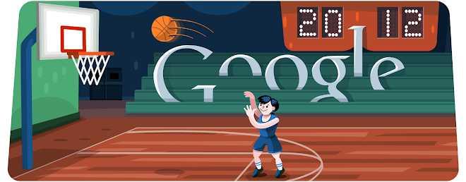 Basketball 2012 - Jeux connus de Google Doodle
