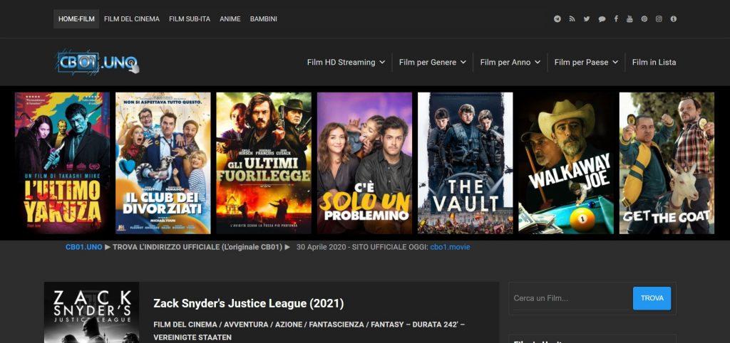 Cineblog01 (CB01) - Site de streaming Films et séries Gratuit