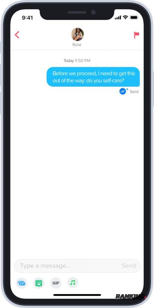 Comment envoyer des messages sur Tinder