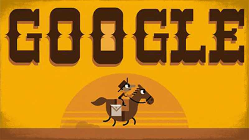 Jeux Doodle Google - The Pony Express