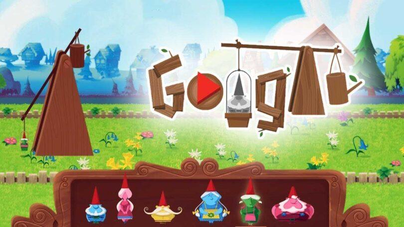 Nains de jardin - Jeux Google Doodle