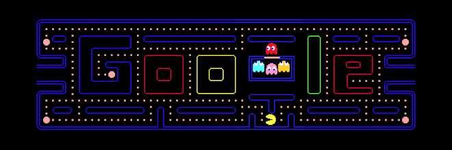 PAC-MAN - Jeux Google Doodle populaires