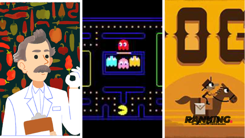 Top : 15 Meilleurs Jeux Google Doodle les plus populaires