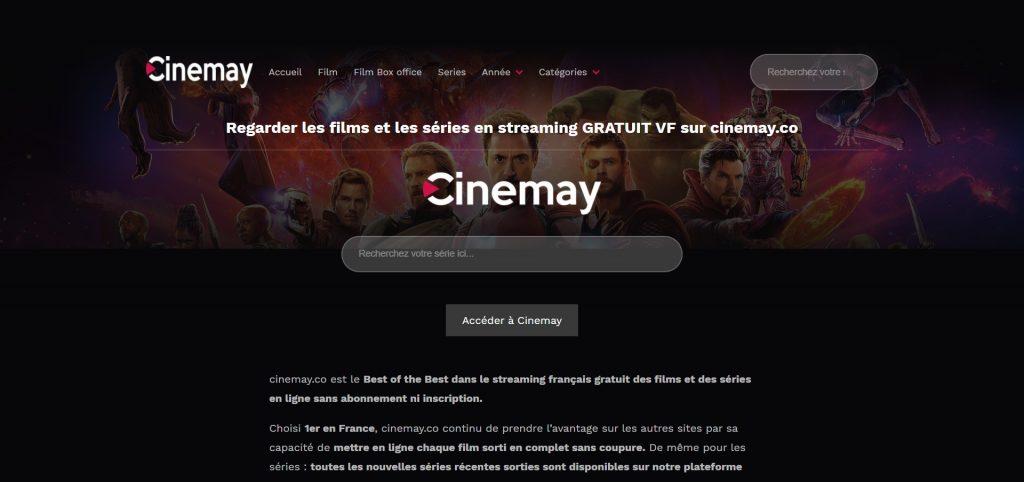 Cinemay : Tous les films, documentaires et animations En Streaming Gratuit