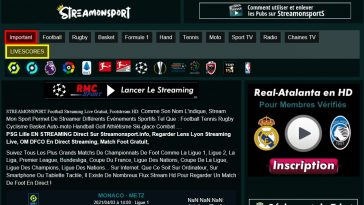 Streamonsport : Tous les replay et sports en direct En Streaming Gratuit