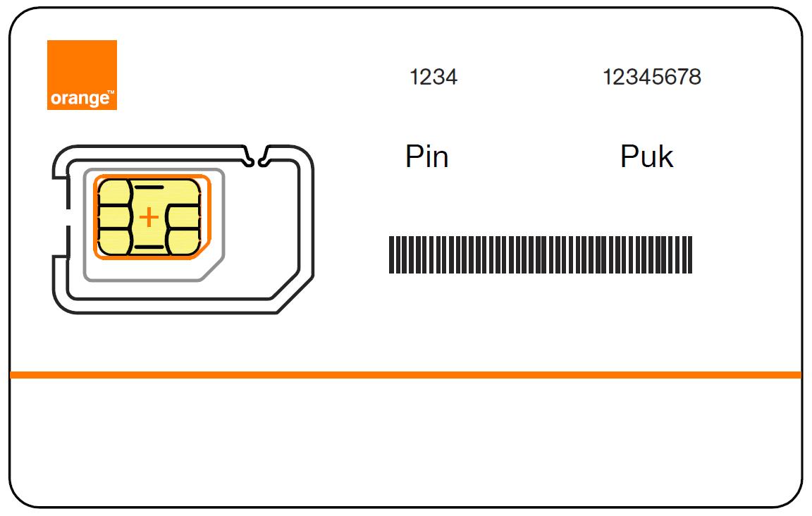 Comment enlever le code PIN d'une carte SIM Orange ?
