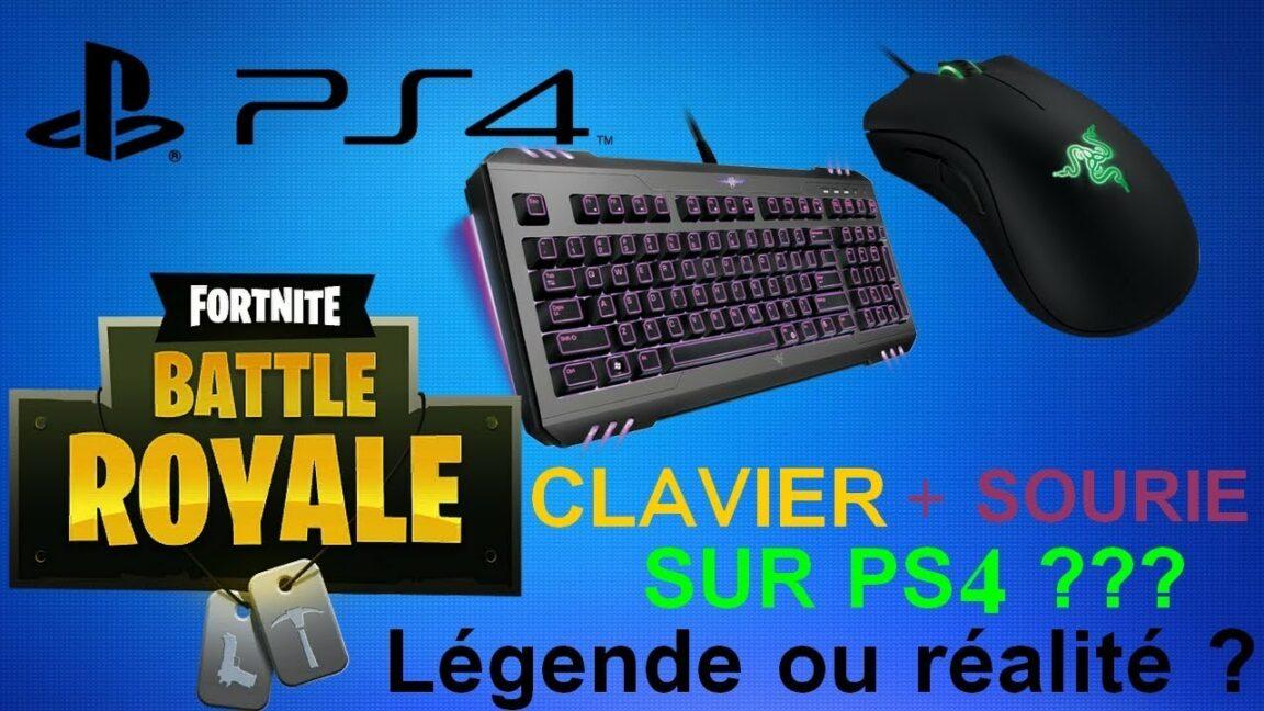 Comment jouer Clavier souris Fortnite PS4 ?