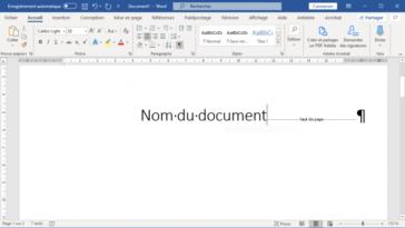 Comment voir les sauts de page sur Word ?