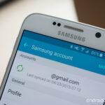 How do I delete my Samsung account on my TV?